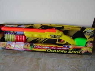 Buzz Bee Toys Air Blasters Double Shot 6 Foam Dart Gun New
