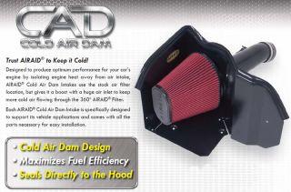 CAD Cold Air Dam Intake w Tube 2008 Dodge Magnum SRT8 6 1L Hemi w Hood