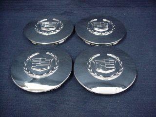 Cadillac DeVille DTS 03 08 Chrome Center Caps Set of 4
