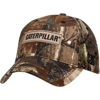 Caterpillar Cat Advantage Camo Cap Adjustable Hat New