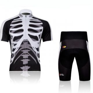 2012 Cycling Bicycle Comfortable Outdoor Skull Jersey Shorts Size M