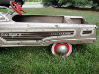 1959 MURRAY MERCURY DUDE WAGON PEDAL CAR WITH PENN STATE DECAL