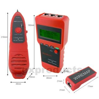 Digital Display Network LAN Cable Tester Wire Tracker Tracer Length