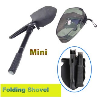 Survival Folding Shovel Garden Camping Hiking Outdoor Tool