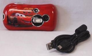 Pix Click Micro Digital Camera for Kids 16MB Memory Cars Movie Design