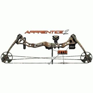 New 2013 Bear Apprentice 2 RTH Bow 15 60 LBS Realtree APG Camo Left