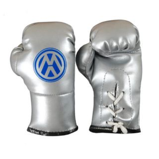 Volkswagen Mini Boxing Gloves for Rear View Mirror