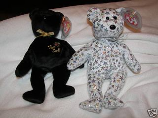 Lot Set 2 Ty Beanie Babies The Beginning The End