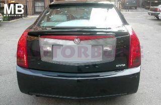Cadillac cts 03 07 4DR Sedan Rear Trunk Tail Wing Spoiler Primer