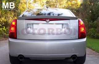 2003 2007 cadillac cts factory oem style spoiler primer