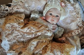 Spring Blossom Vintage Inspired Hat 4 Reborn Baby Doll