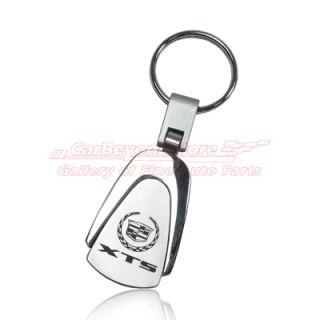 Cadillac XTS Tear Drop Auto Key Chain Keychain Key Ring Free Gift