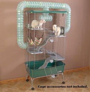 Super Pet Habitat Multi Level Ferret Funnel Cage New