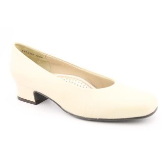 Ros Hommerson Callie Womens Size 8.5 White Leather Pumps, Classics
