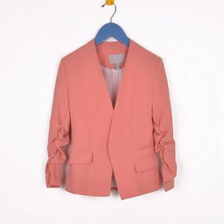 Womens Candy Colour Long Sleeve Slim Body Blazer Suits SX 8530 Euro 36