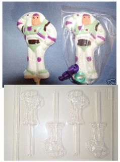 Buzz Lightyear Toy Story Chocolate Candy Mold Molds
