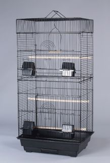 Canary Parakeet Cockatiel Lovebird Finch Cages Bird Cage 18x14x36H