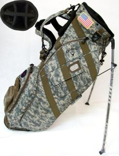 New RARE Callaway CHEV 18 XTT Camo Stand Carry Golf Bag Camouflage