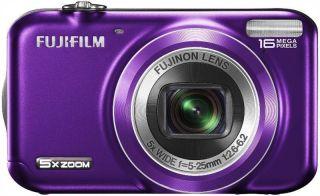 Fuji JX400 Purple 16MP Digital Camera FujiFIlm Finepix Compact
