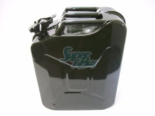New 5 Gallon Spill Proof Metal Military Jerry Can Fuel Gas Gasoline