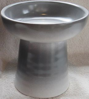 Raised Stoneware Classy Cat Dog Pet Dry Hard Food Dish Water Bowl