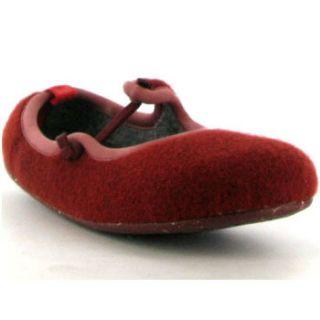 Camper Shoes Wabi 21500 001 Port Red Womens Slipper Shoes Sizes UK 4 8