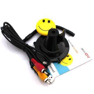 Mini Smile Face DV Sports HD Car DVR Video Spy Camera