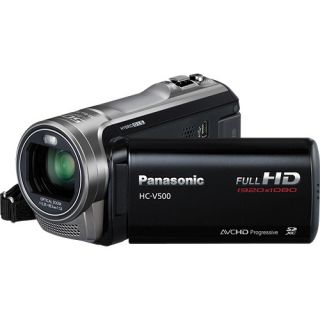 Panasonic HC V500 Full High Definition Digital Camcorder Black