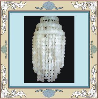 Large Capiz Shell Chandelier Lamp Shade Beach Wedding