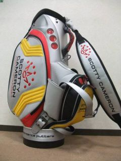 Scotty Cameron Tour Staff Golf Bag One Time Used Good Condition from