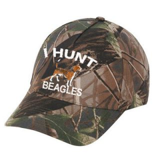 Cap Camo Hat Beagle Rabbit Hunter Hunting Hunt Embroidered Camouflage