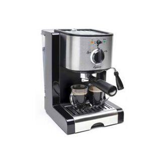 Capresso EC100 Pump Espresso and Cappuccino Machine New
