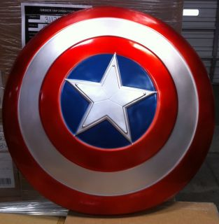 New Avengers 2012 Captain America Adult 24 Movie Shield Prop Licensed