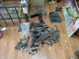 LIONEL AMERICAN FLYER O GAUGE TRACK PRE WAR POST WAR MIXED HUGE LOT