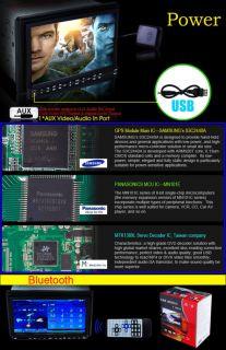 Car Stereo GPS DVD Player Nav Free Map Back Up Camera
