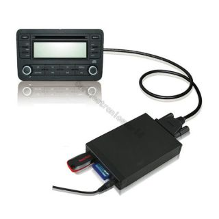 Car Digital CD Changer SD USB AUX Adapter  Music Player for MAZDA 2