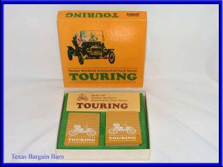 Vintage Playing Card Games   Touring/ET/Golf/Bowling   Parker Bros
