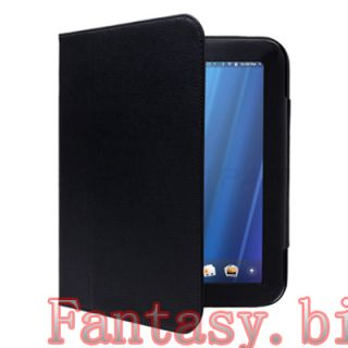 For HP Touchpad Leather Case LCD Protector Stylus 3in1