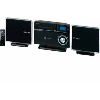 AEG MC 4433   Minicadena vertical (reproductor de CD, MP3 y WMA, 60 W
