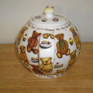 Paul Cardew Ted Tea Teddy Bear Teapot A Cardew Classic