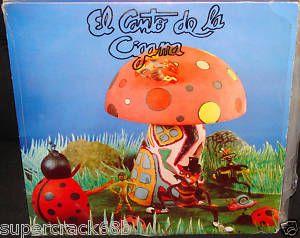 Onelio Jorge Cardoso El CANTO de La Cigarra LP VG