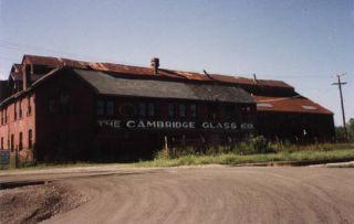 Antique Art Deco Farber Bros Chrome Amethyst Glass Cordial Decanter