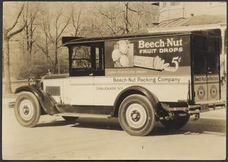 Photo Beech Nut Candy 1926 Dodge Truck New York 624700