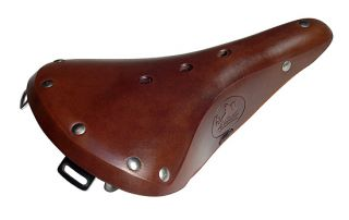 Cardiff Cornwall Brook B17 Style Leather Bicycle Saddle Seat New Brown