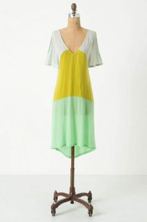 Anthropologie Summer Greens Cover Up Gown Chemise Nightie by