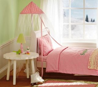 "Doll Bed Canopy for American Girl Doll My Twinn Doll 18"" 23"" Doll"