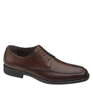 Johnston Murphy Mens Carlock Wingtip Dress Shoes Tan Calfskin 15 7670