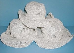 Capelli Kids New York White & Silver Paper Cowboy Hats Little Girls