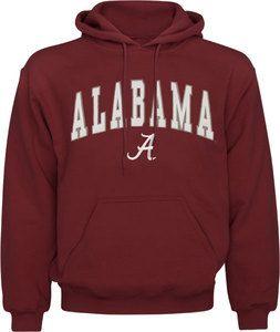 Alabama Crimson Tide Mascot One Hoody Varsity Sweatshirt
