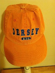 Kids Baseball Cap Hat Jersey Kid Orange Blue Embroidery Souvenir New